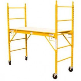 "G-FORCE 6' X 29"" ROLLING SCAFFOLD 1000 POUND CAPACITY"